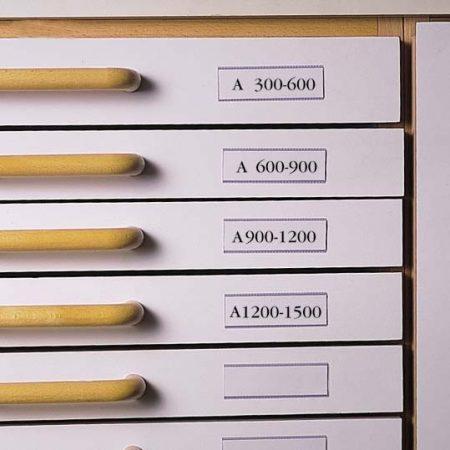 3L Címketartó zseb, 30x150 mm, fiókhoz, 3L