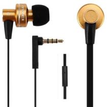 """AWEI Fülhallgató, mikrofon, AWEI """"ES900i"""", arany"""
