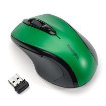 """KENSINGTON Egér, vezeték nélküli, optikai, közepes méret, USB, KENSINGTON """"Pro Fit"""", zöld"""
