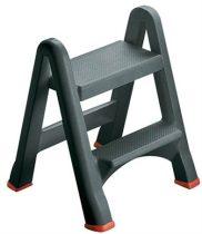 CURVER Összecsukható létra, 2 lépcsőfokos, műanyag, CURVER