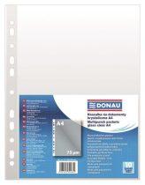 DONAU Genotherm, lefűzhető, A4, 75 mikron, víztiszta, DONAU