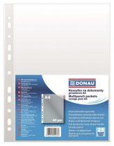DONAU Genotherm, lefűzhető, A4, 40 mikron, narancsos felület, DONAU