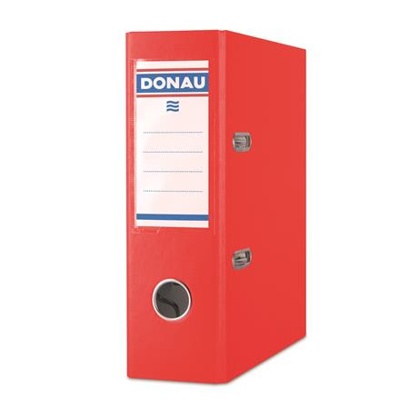 "DONAU Iratrendező, 75 mm, A5, PP/karton, DONAU ""Master"", piros"
