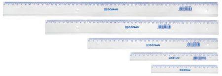 DONAU Vonalzó, műanyag, 16 cm, DONAU