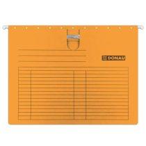 DONAU Függőmappa, gyorsfűzős, karton, A4, DONAU, narancs
