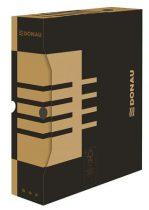 DONAU Archiváló doboz, A4, 80 mm, karton, DONAU, natúr