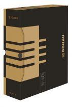 DONAU Archiváló doboz, A4, 100 mm, karton, DONAU, natúr