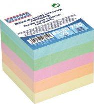 DONAU Kockatömb, 83x83x75 mm, DONAU, színes