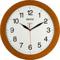 SECCO Falióra, 30 cm, SECCO, fahatású keret