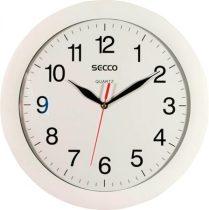 SECCO Falióra, 30 cm,  SECCO, fehér keretes