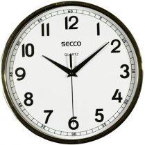 SECCO Falióra, 24 cm,  SECCO, króm színű keretes