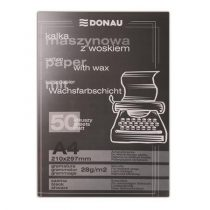 DONAU Indigó, gépi, A4, 50 lap, DONAU, fekete