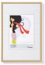"""Képkeret, műanyag, 10 x15 cm,  """"New  Lifestyle"""", arany"""