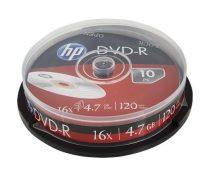 HP DVD-R lemez, 4,7 GB, 16x, hengeren, HP