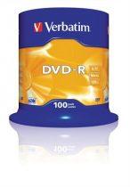 VERBATIM DVD-R lemez, AZO, 4,7GB, 16x, hengeren, VERBATIM