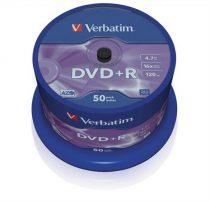 VERBATIM DVD+R lemez, AZO, 4,7GB, 16x, hengeren, VERBATIM