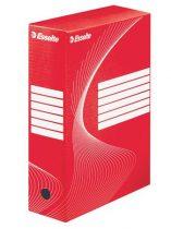 "ESSELTE Archiváló doboz, A4, 100 mm, karton, ESSELTE ""Boxycolor"", piros"