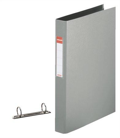 "ESSELTE Gyűrűs könyv, 2 gyűrű, 42 mm, A4, PP, ESSELTE ""Standard"", szürke"
