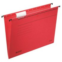 "LEITZ Függőmappa, karton, A4, LEITZ ""Alpha Standard"", piros"