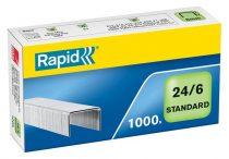 """RAPID Tűzőkapocs, 24/6, horganyzott, RAPID """"Standard"""""""