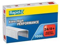 """RAPID Tűzőkapocs, 24/8+, horganyzott, RAPID """"Superstrong"""""""