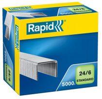 "RAPID Tűzőkapocs, 24/6, RAPID ""Standard"""