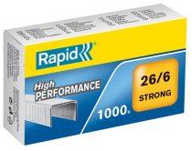 """RAPID Tűzőkapocs, 26/6, horganyzott, RAPID """"Strong"""""""