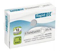 """RAPID Tűzőkapocs, 21/4, horganyzott, RAPID """"Standard"""""""