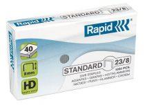 """RAPID Tűzőkapocs, 23/8, horganyzott, RAPID """"Standard"""""""