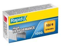 """RAPID Tűzőkapocs, 10/4, horganyzott, RAPID """"Strong"""""""