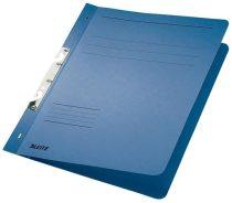 LEITZ Gyorsfűző, karton, fémszerkezettel, A4, LEITZ, kék