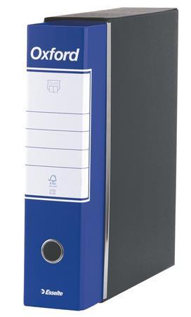 "ESSELTE Tokos iratrendező, 80 mm, A4, karton, ESSELTE ""Oxford"", kék"