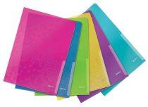 """LEITZ Genotherm, """"L"""", A4, 200 mikron, LEITZ """"Wow"""", vegyes színek"""