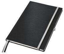 """LEITZ Jegyzetfüzet, A4, kockás,  80 lap, keményfedeles, LEITZ """"Style"""", szaténfekete"""