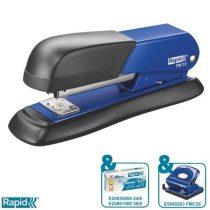 """RAPID Tűzőgép, 24/6, 26/6, 25 lap, RAPID """"FM12"""", kék"""