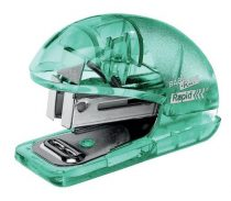 """RAPID Tűzőgép, mini, 24/6, 26/6, 10 lap, RAPID """"Colour' Ice"""", zöld"""