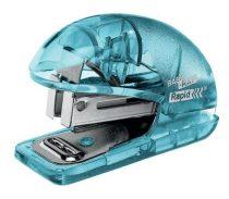 "RAPID Tűzőgép, mini, 24/6, 26/6, 10 lap, RAPID ""Colour' Ice"", kék"