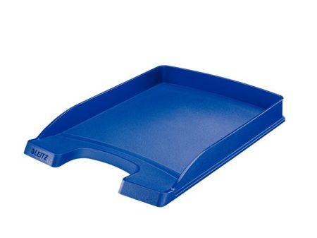 """LEITZ Irattálca, műanyag, vékony, LEITZ """"Plus"""", kék"""