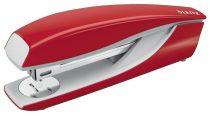 """LEITZ Tűzőgép, nagyteljesítményű, lapos tűzés, LEITZ """"Nexxt 5504"""", piros"""