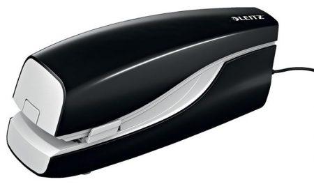 """LEITZ Tűzőgép, elektromos, 24/6, 20 lap, LEITZ """"Nexxt 5533"""", fekete"""