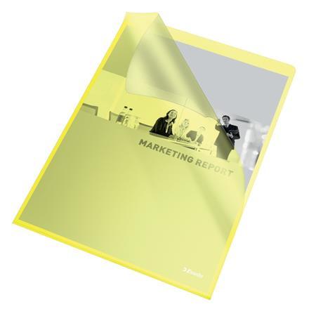 "ESSELTE Genotherm, ""L"", A4, 105 mikron, narancsos felület, ESSELTE ""Standard"", sárga"