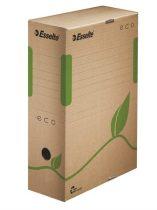 """ESSELTE Archiváló doboz, A4, 100 mm, újrahasznosított karton, ESSELTE """"Eco"""", barna"""