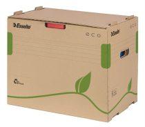 """ESSELTE Archiváló konténer, újrahasznosított karton, iratrendezőnek, ESSELTE """"Eco"""", barna"""