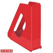 "ESSELTE Iratpapucs, műanyag, 68 mm, ESSELTE ""Europost"", Vivida piros"