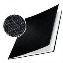 """LEITZ Könyvkötőborító, 7 mm, 36-70 lap, A4, LEITZ """"ImpressBind"""", fekete"""