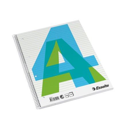 ESSELTE Spirálfüzet, A4, vonalas, 70 lap, ESSELTE
