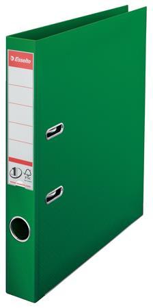 "ESSELTE Iratrendező, 50 mm, A4, PP, élvédő sínnel, ESSELTE ""Standard"", zöld"