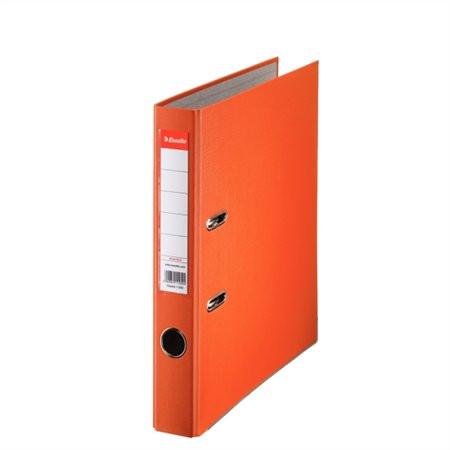 """ESSELTE Iratrendező, 50 mm, A4, PP/karton, élvédő sínnel, ESSELTE """"Economy"""", narancssárga"""