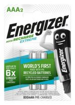"""ENERGIZER Tölthető elem, AAA mikro, 2x800 mAh, előtöltött, ENERGIZER """"Extreme"""""""
