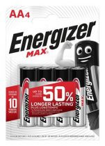 """ENERGIZER Elem, AA ceruza, 4 db, ENERGIZER """"Max"""""""